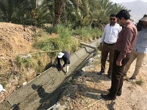کانال پایاب سد سلمان فارسی پیشرفت فیزیکی دارد
